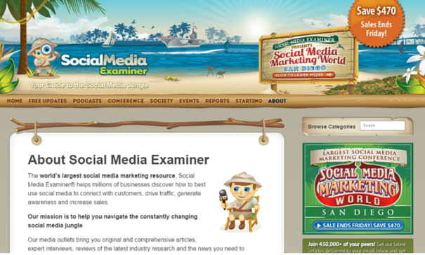 Social Media Marketing Examiner