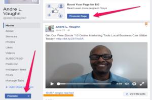 Create Ads Facebook Promote Page