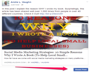 Create Ads Facebook Promote Post