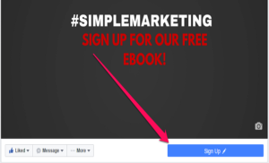 Create Ads Facebook Promote Sign Up
