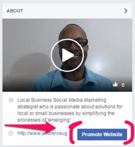 Create Ads Facebook Promote Website