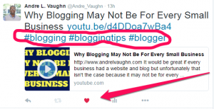 how to use hashtags on twitter with no engagement
