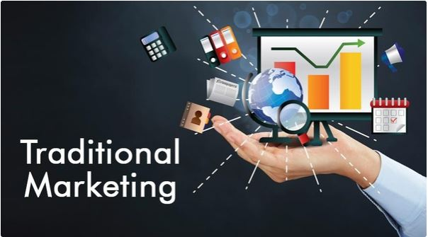 Common Types of Traditional Marketing Compared To Digital Marketing