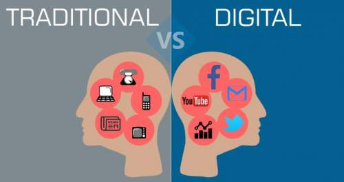 What is Traditional Marketing vs Digital Marketing